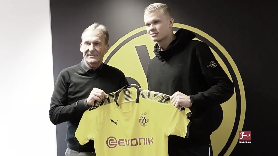 Haaland, la nueva perla del Borussia Dortmund
