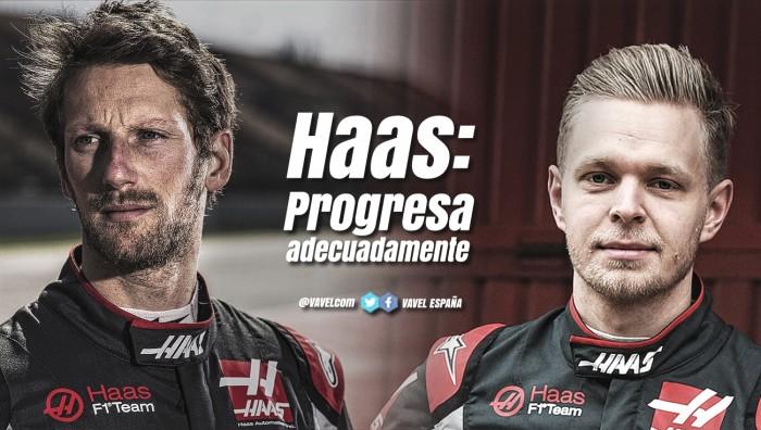 Haas: Progresando adecuadamente