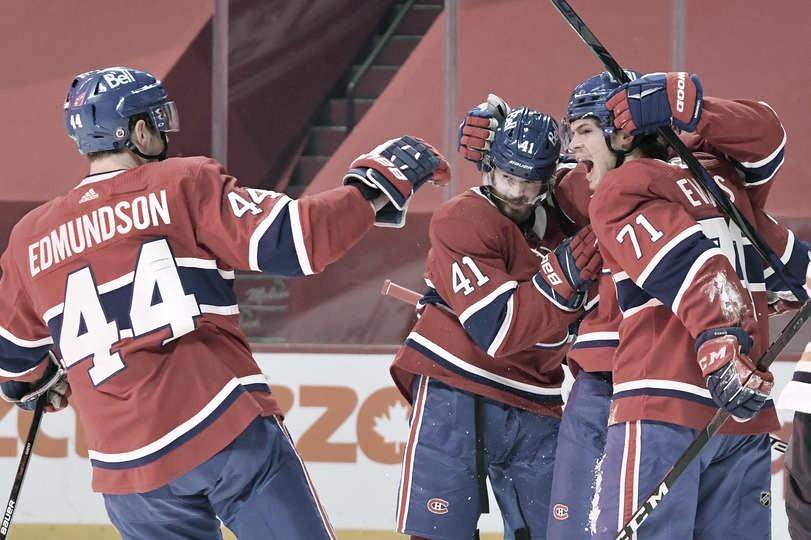 Montreal Canadiens sacan el último billete para playoff