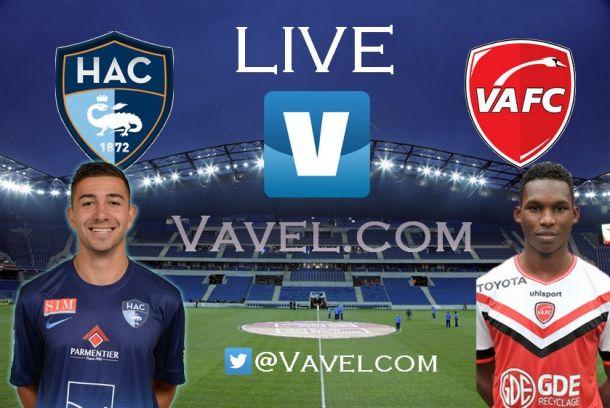 Le Havre AC - Valenciennes FC en direct commenté : suivez le match en live