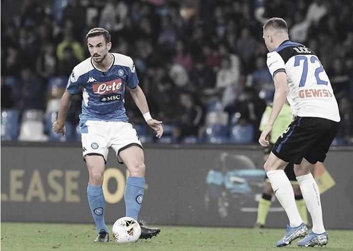 Napoli sai na frente, mas cede empate para Atalanta pelo Campeonato Italiano