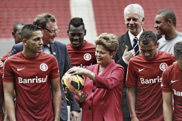 Após visita de Dilma Rousseff ao Beira-Rio, Alan Patrick afirma que a presidente é colorada