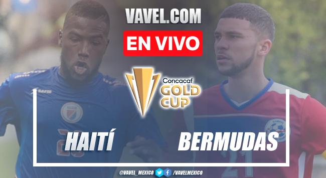 Goles y resumen del Haití 4-1 Bermudasen Eliminatorias Copa Oro 2021