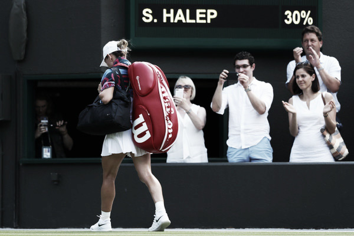 Halep sucumbe ante Hsieh y deja a Pliskova como la única top ten en Wimbledon