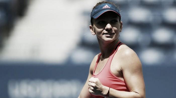 Simona Halep supera Suárez Navarro e avança às quartas de final do US Open