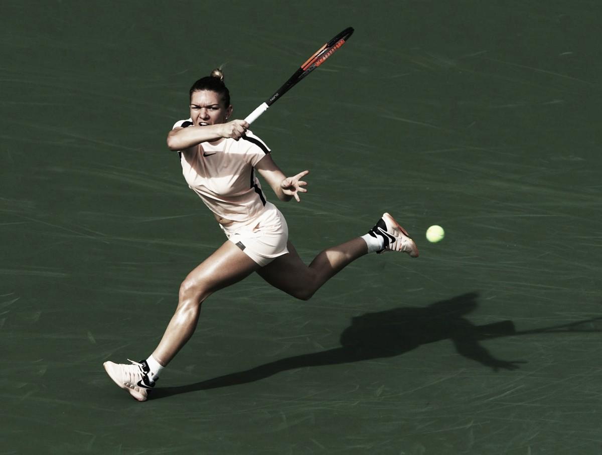 Simona Halep vence mais uma batalha de três sets na temporada e elimina Océane Dodin em Miami