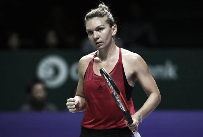 WTA Finals: Simona Halep exacts revenge over Caroline Garcia for the perfect start