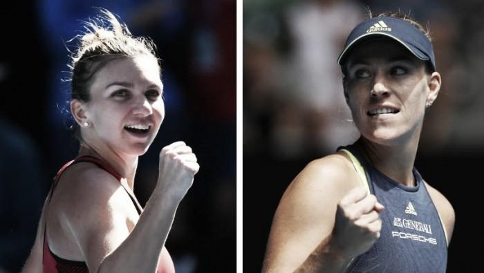 Resultado Simona Halep vence Angelique Kerber na semifinal do Australian Open 2018 (2-1)