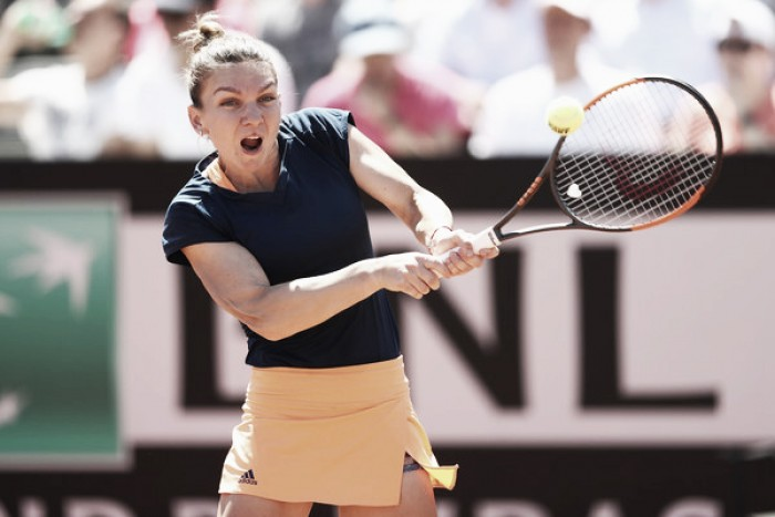 WTA Rome: Simona Halep battles her way to the quarterfinals