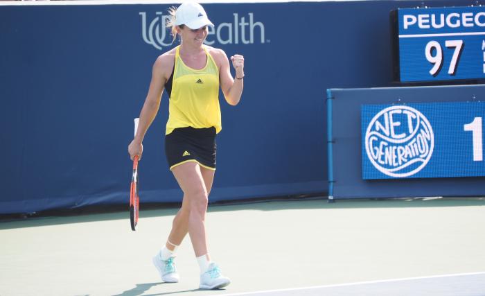WTA Cincinnati: Simona Halep races into final
