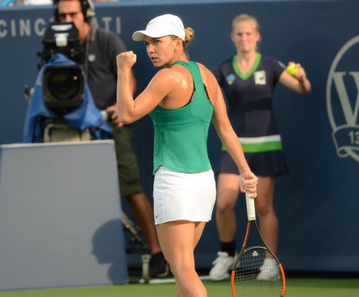 WTA Cincinnati: Simona Halep ends Aryna Sabalenka's run to reach second straight final