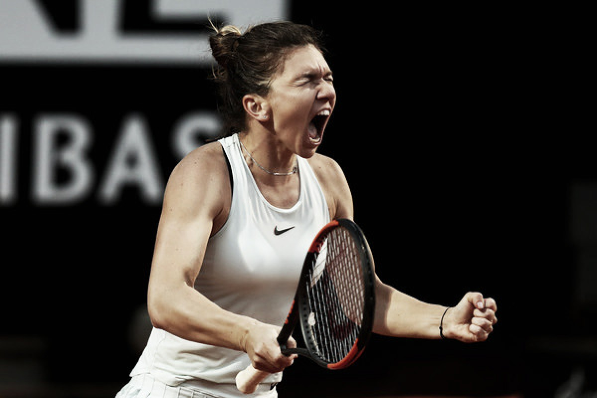 WTA Rome: Simona Halep edges past Maria Sharapova in thrilling break fest, sets Svitolina rematch