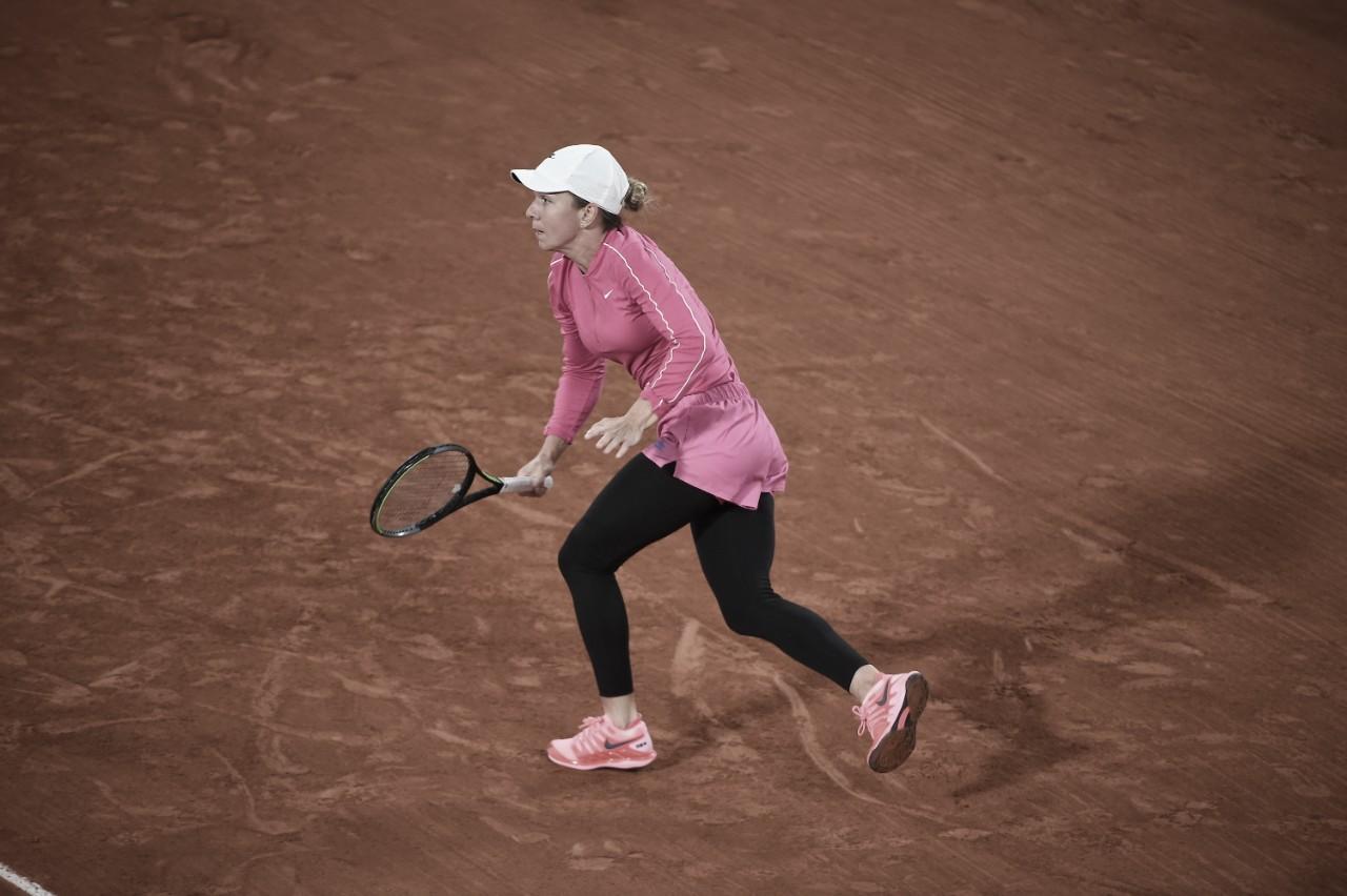 Maior favorita em Roland Garros, Halep supera início difícil e passa por Sorribes Tormo
