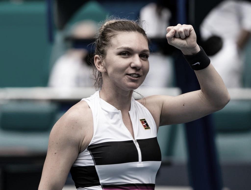 Em alto nível, Halep bate Venus Williams pela quarta vez seguida e avança em Miami