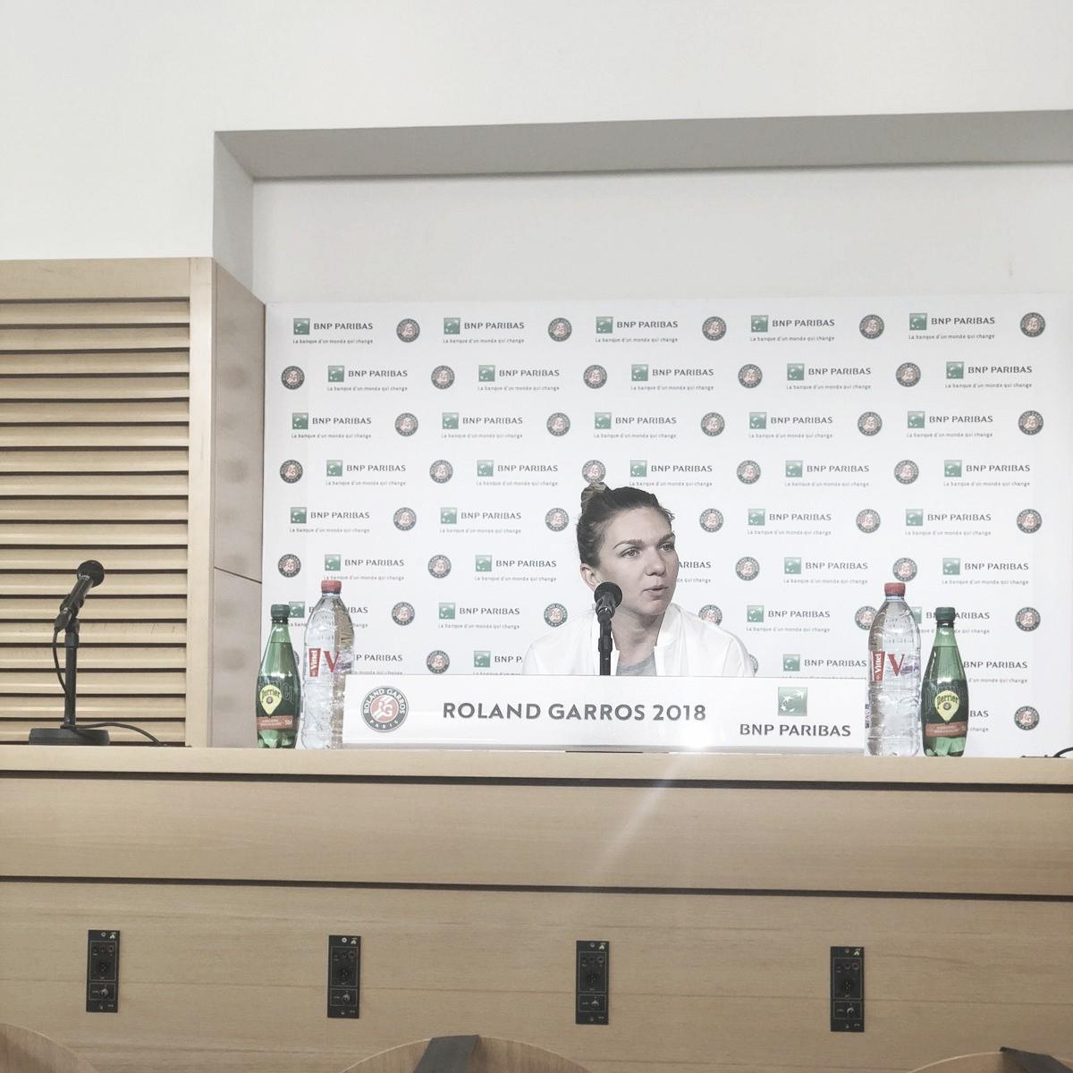 """Simona Halep: """"Soy mejor jugadora que el año pasado"""""""