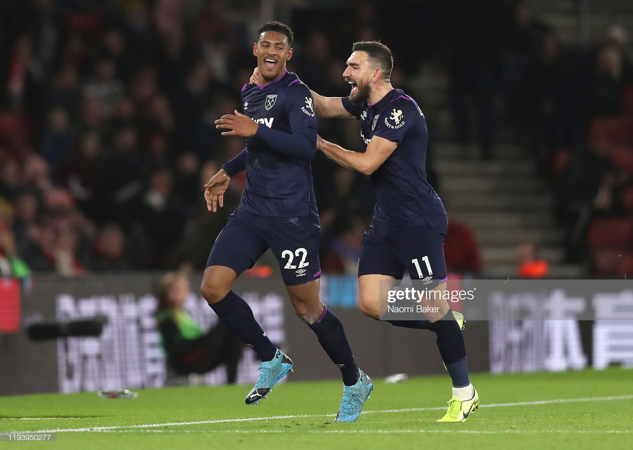 Southampton 0-1 West Ham United: Haller helps Hammers to vital victory