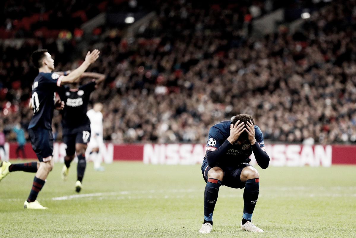 Dura derrota en Londres para el PSV