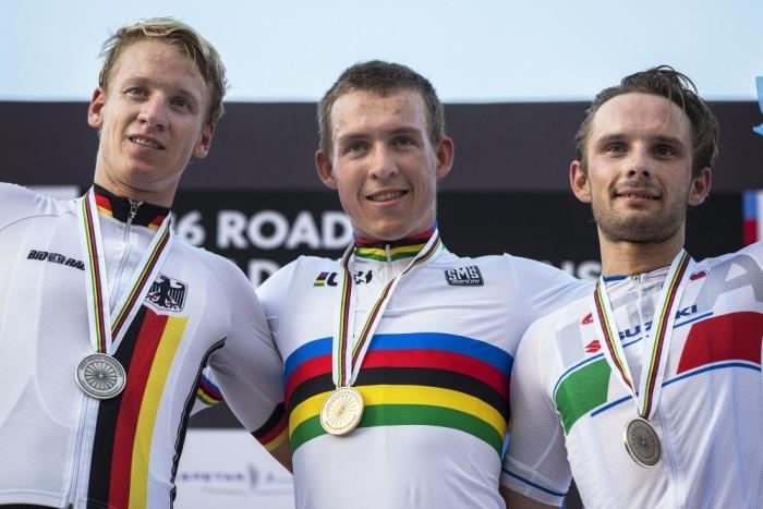 Halvorsen champion du monde espoir 2016 devant Ackermann et Mareczko
