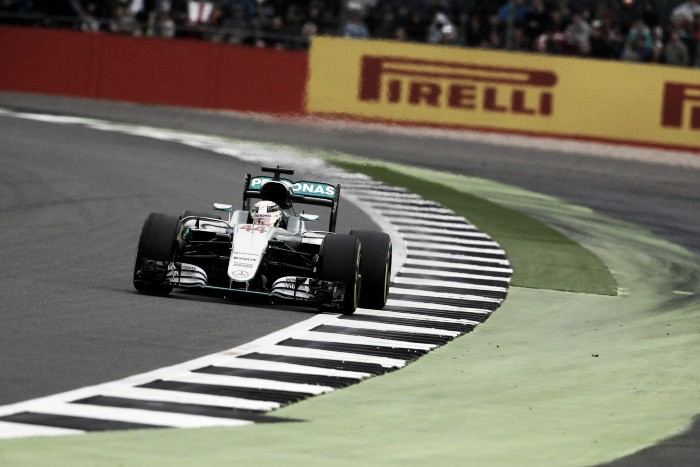 Hamilton hat-trick in disrupted British Grand Prix third practice
