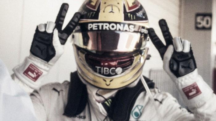"""Lewis Hamilton: """"Se lo debo todo al equipo"""""""