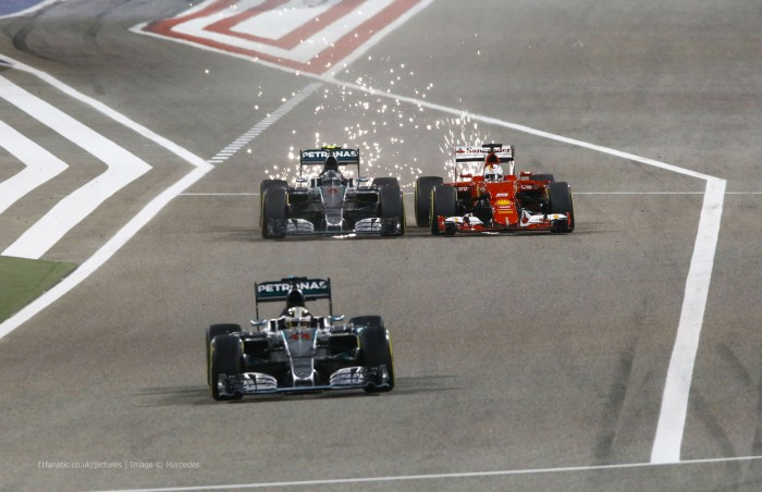 F1 - Bahrain: Fp3, Ferrari davanti