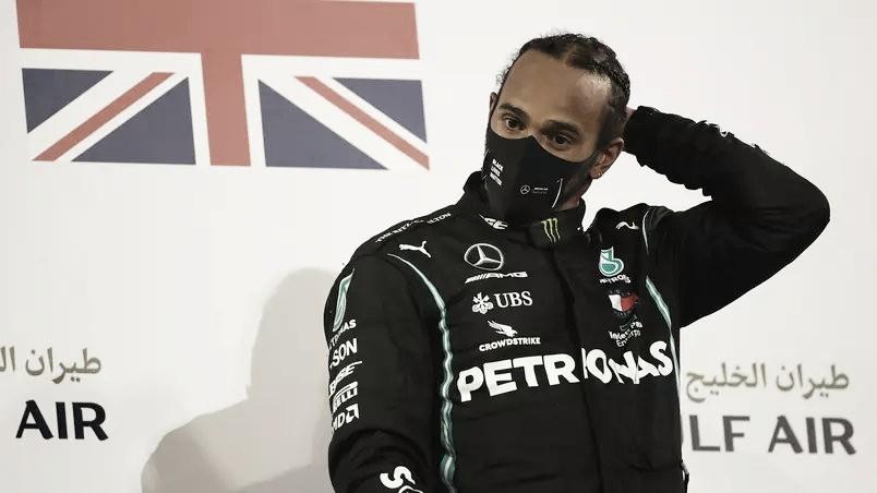 Lewis Hamilton após o GP Abu Dhabi 2020 (Foto: Divulgação / F1)