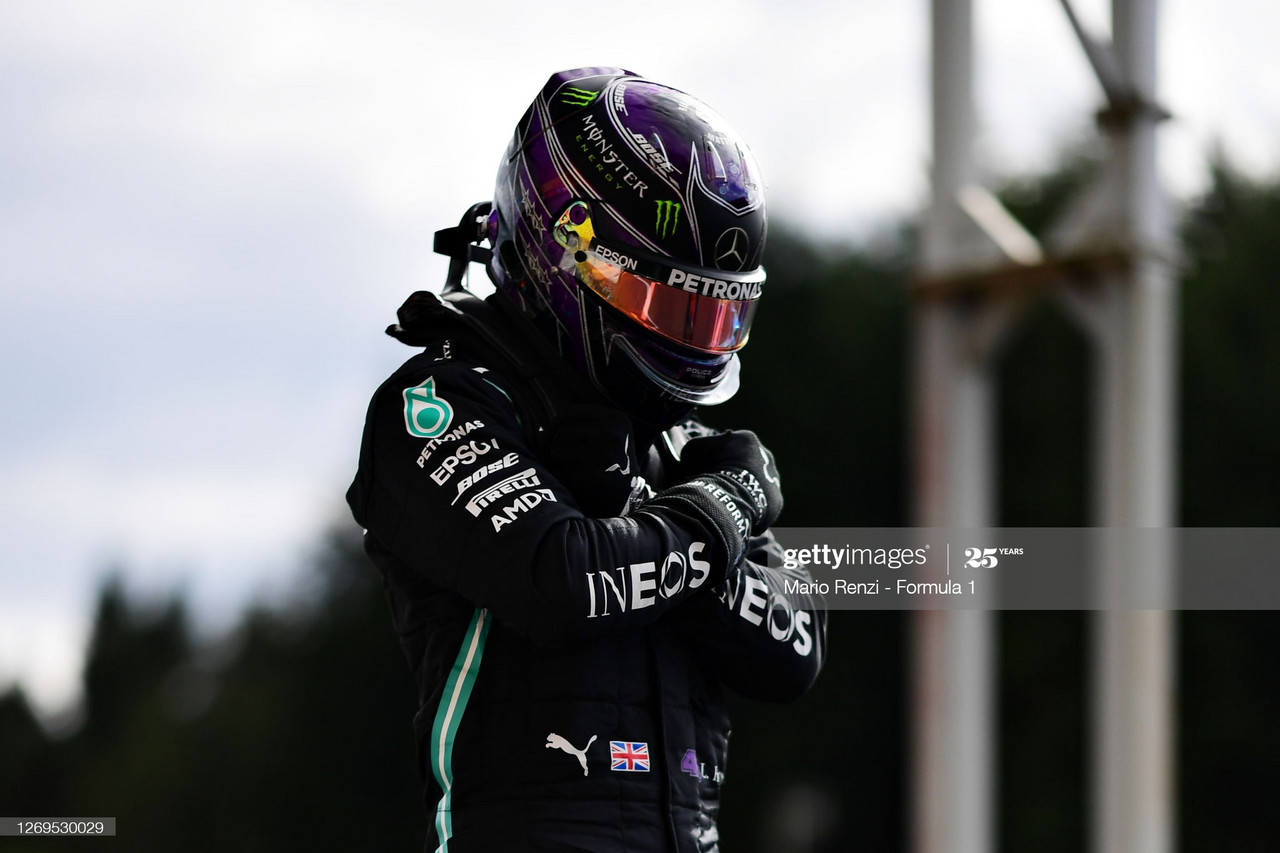 Belgian GP Qualifying Report - Mercedes come out on top
