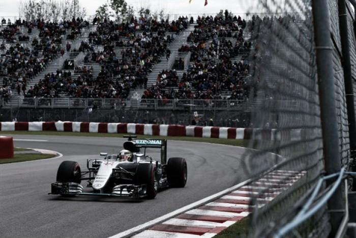 Lewis Hamilton é o mais rápido no segundo treino livre no Canadá