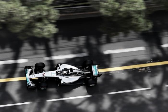 Lewis Hamilton lidera o primeiro treino livre para o GP de Mônaco