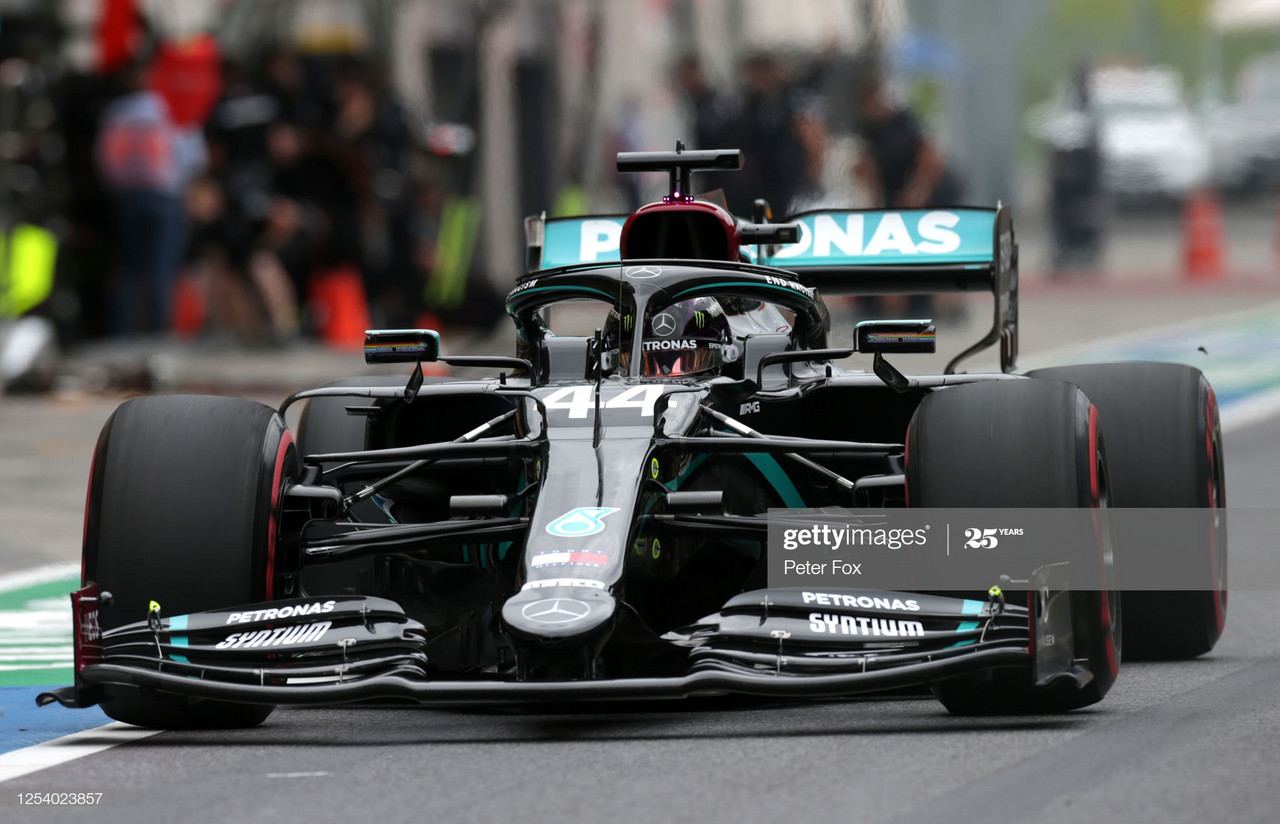 Lewis Hamilton tops FP1 after F1 restart in Austria