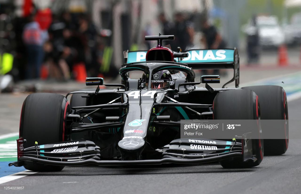 Lewis Hamilton tops FP1 after F1 restart in Austria