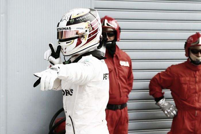 Lewis Hamilton domina treino classificatório e conquista quarta pole em cinco anos em Monza