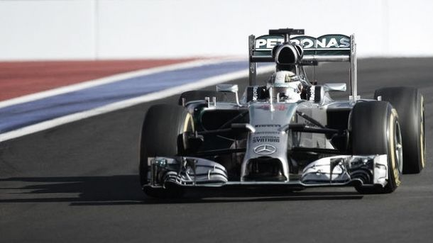 Grand Prix de Russie, Hamilton la force tranquille