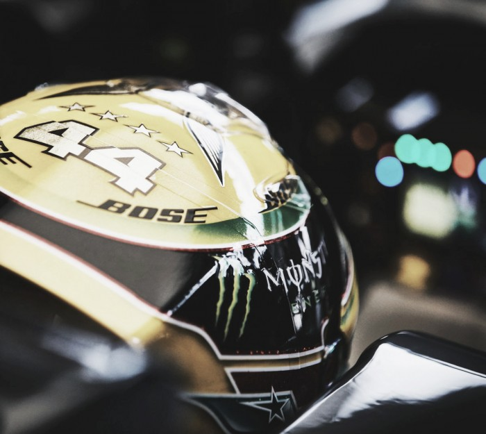 "Hamilton: ""Tener solo tres motores apesta"""