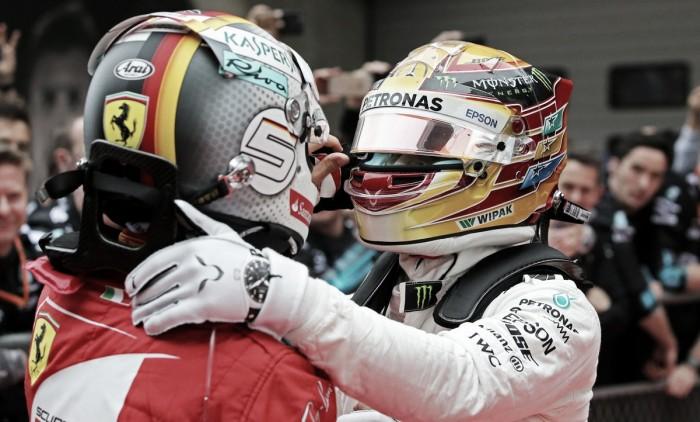 """Hamilton, intimidando: """"Vettel volverá más fuerte pero no podrá conmigo si hago lo que debo"""""""