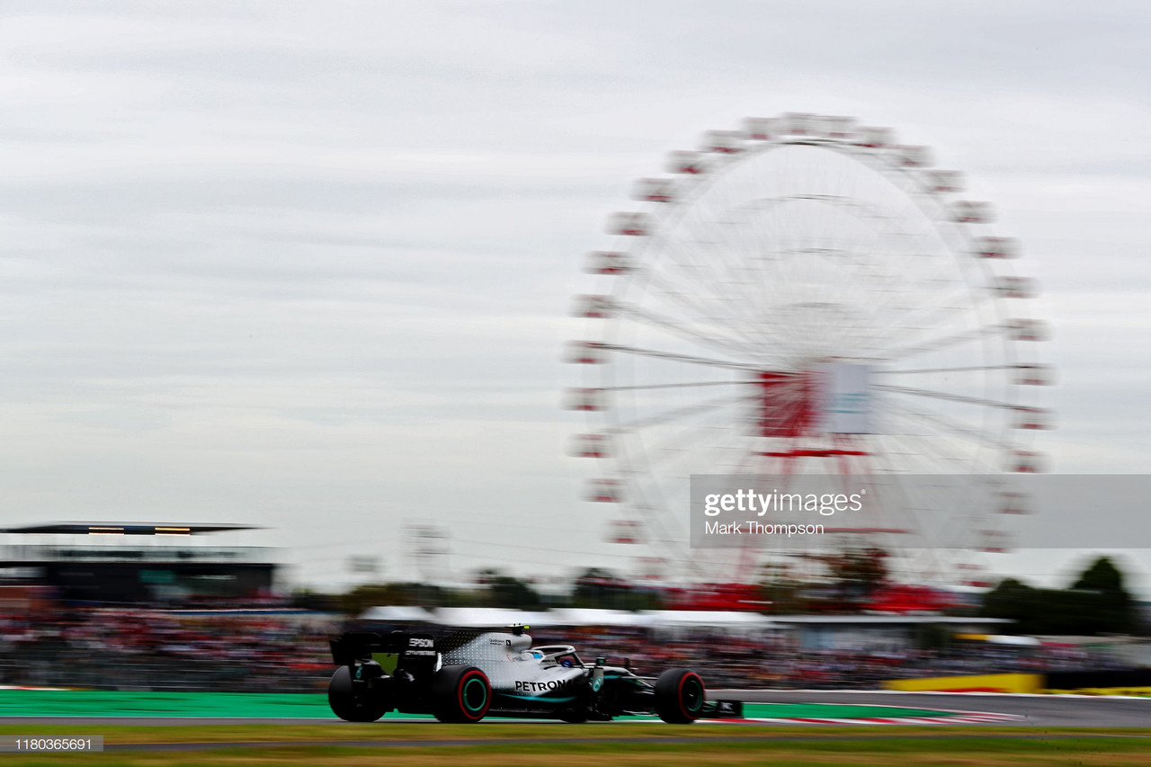 Bottas tops times yet again as Vettel slips down the order in FP2