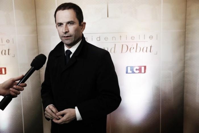 Benoît Hamon, en medio de la deriva socialista