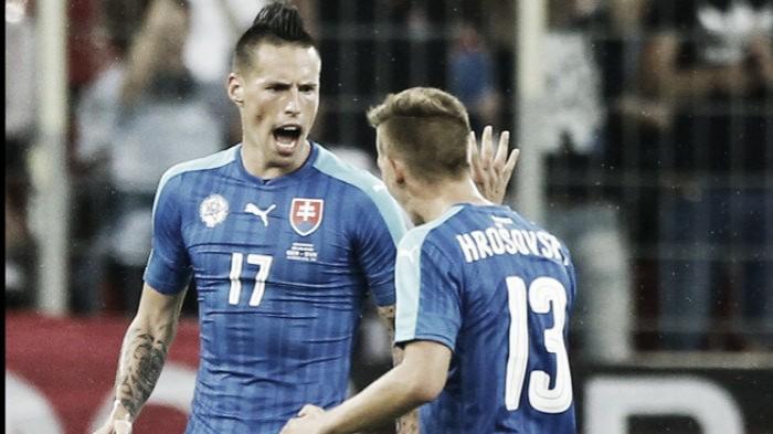 "Martin Skrtel reveals he's ""prepared to kick"" clubmate Sturridge as Slovakia prepare for England showdown"
