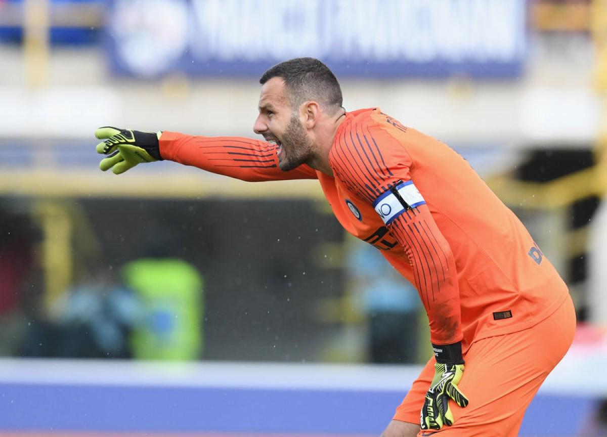 """Inter, Handanovic: """"Dobbiamo tifare l'uno per l'altro"""""""