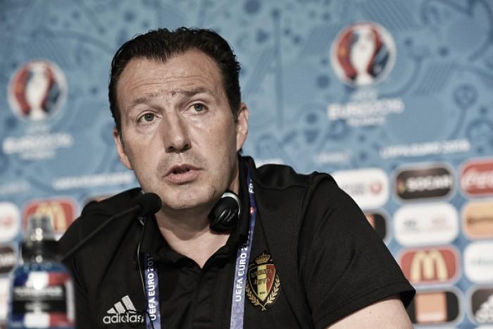 """Após vitória com gol de contra-ataque, Wilmots alerta: """"Se abrir contra nós, será punido"""""""