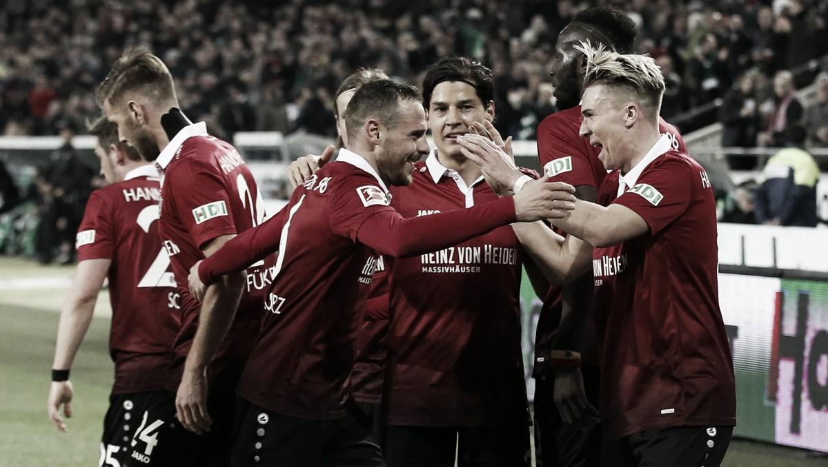 El Hannover se impone al Werder Bremen