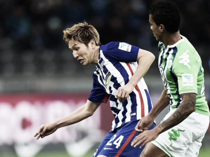 Hertha BSC 1-1 VfL Wolfsburg: Spoils sharerd at the Olympiastadion