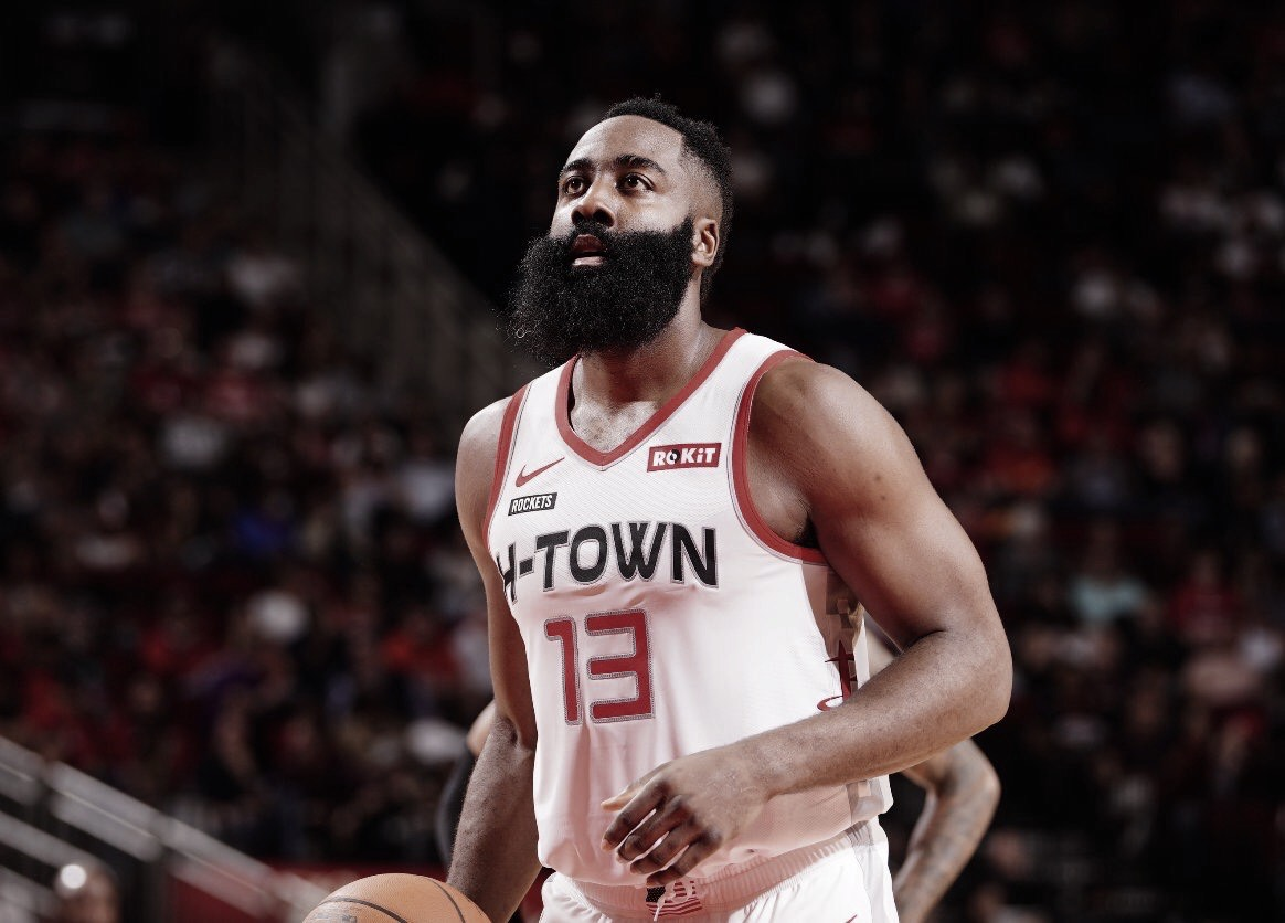 James Harden, simply unstoppable