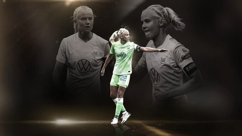 Com Pernille Harder sendo eleita melhor da Europa, Uefa elege melhores jogadoras por posição