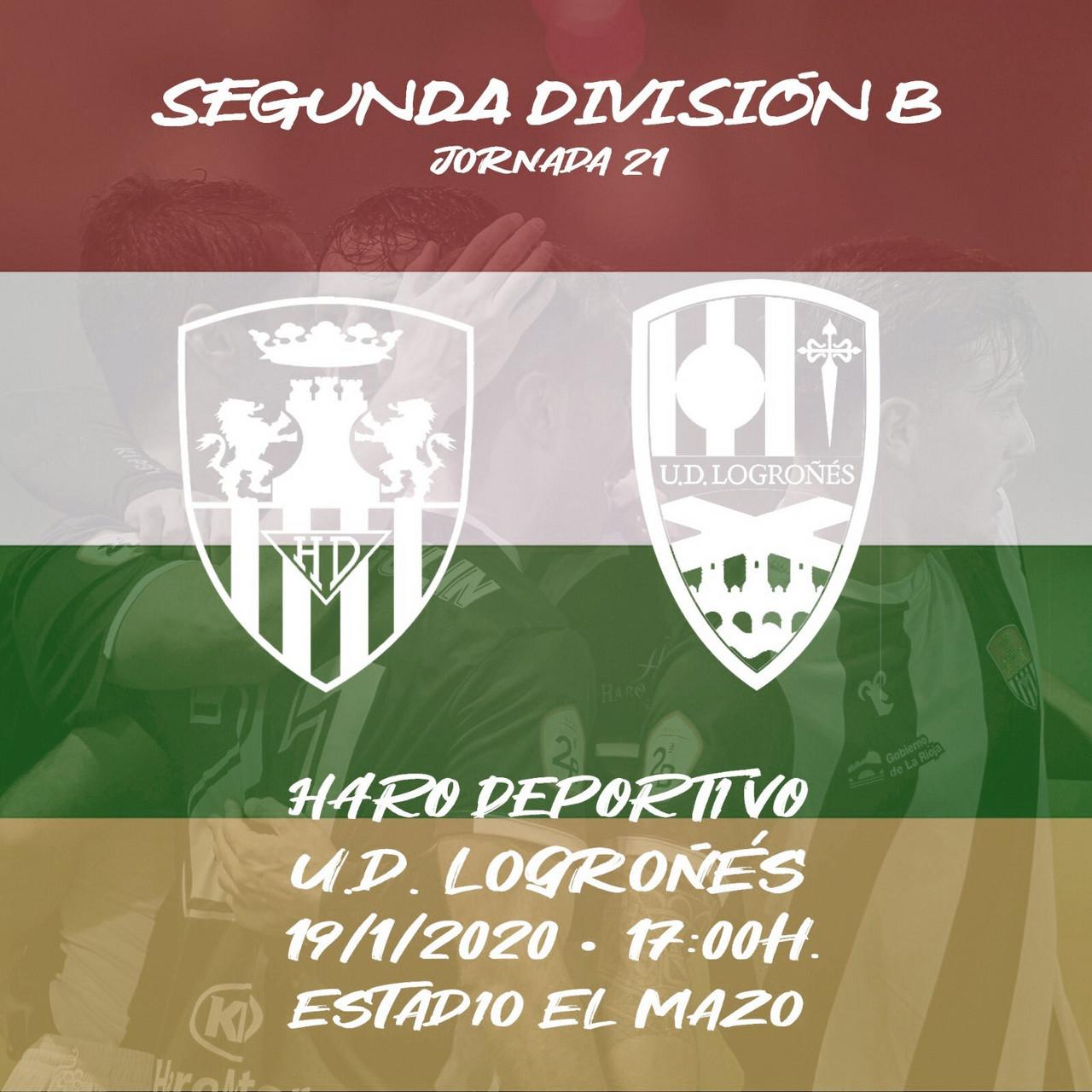 Haro Deportivo - UD Logroñés: superar la cuesta de enero