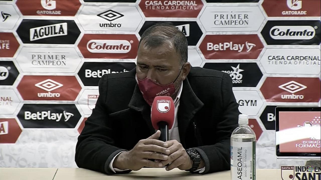 """Harold Rivera: """"Haremos nuevamente de Santa Fe un equipo fuerte"""""""