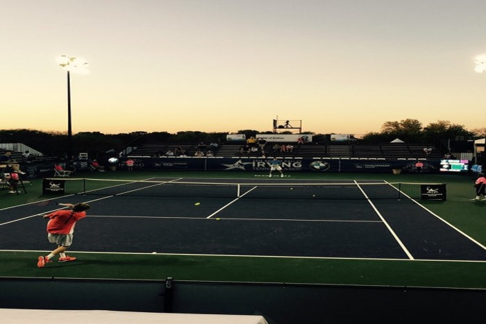 Irving Tennis Classic: Andrey Rublev Wins Wild Nightcap Over Ryan Harrison