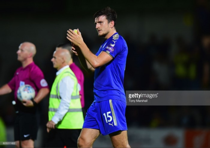 Harry Maguire eyeing England World Cup squad whilst with Leicester City