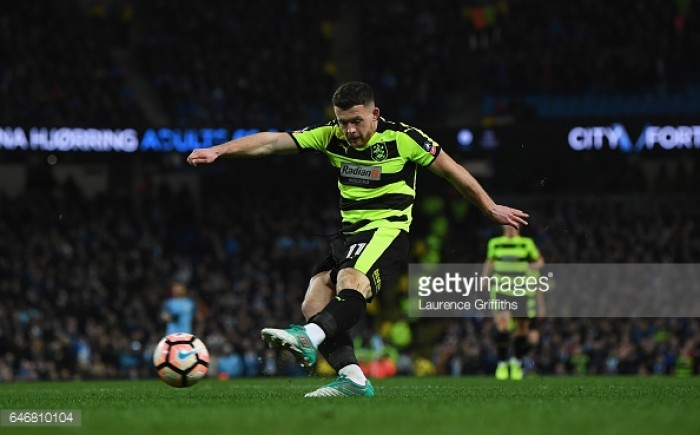 Huddersfield Town winger Harry Bunn linked with Ipswich Town move