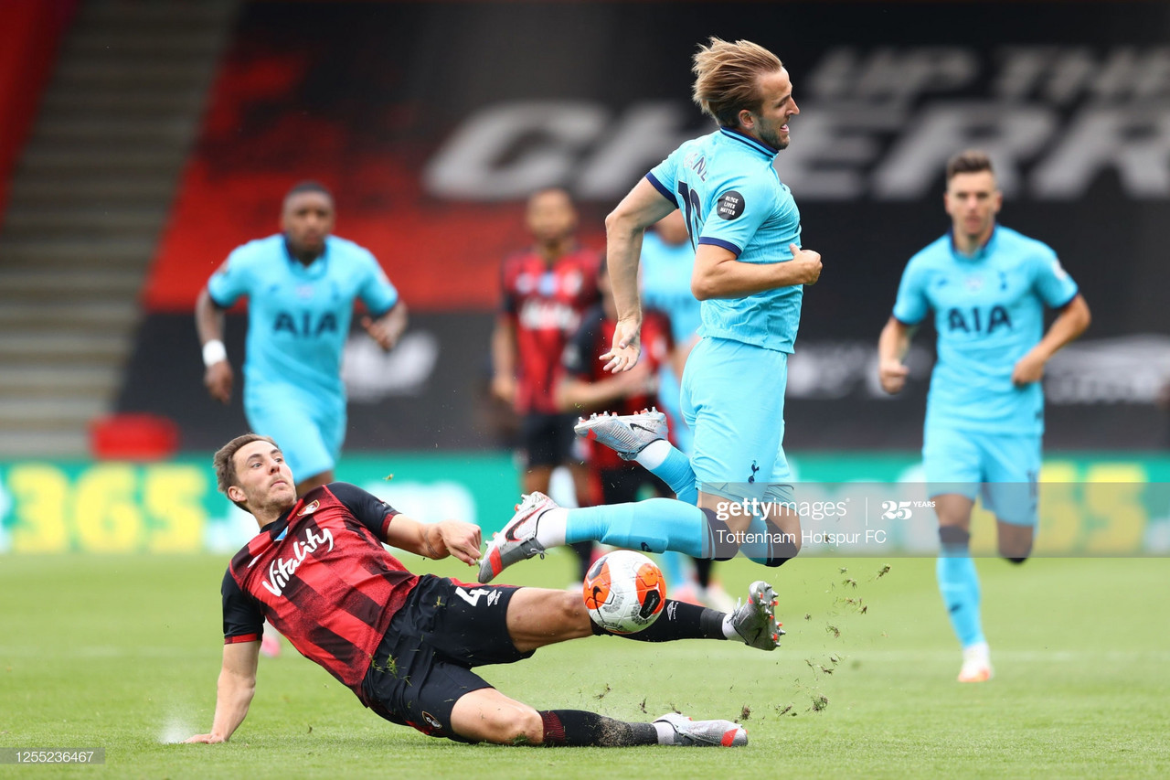 Tottenham held by Bournemouth in lifeless affair